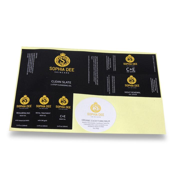 Custom Printed Labels Image